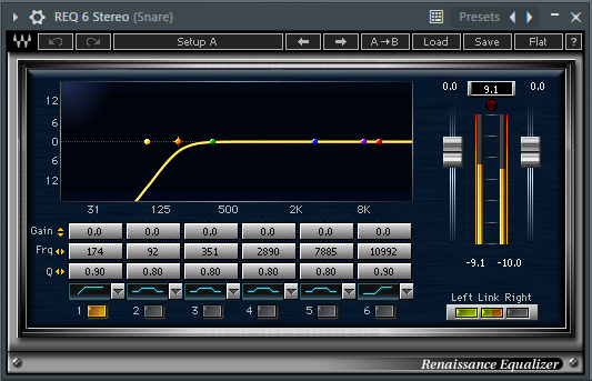 Snare drum Effect