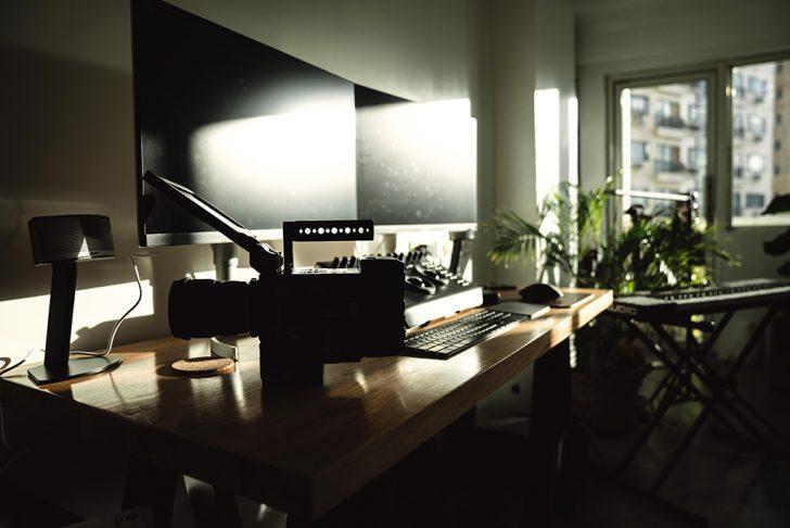 かっこいい作業部屋