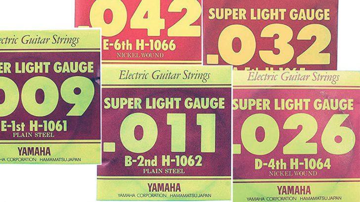 ヤマハのギター弦